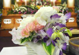 Flower in funeral