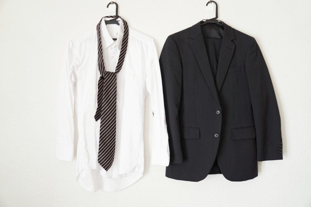 スーツとYシャツとネクタイ