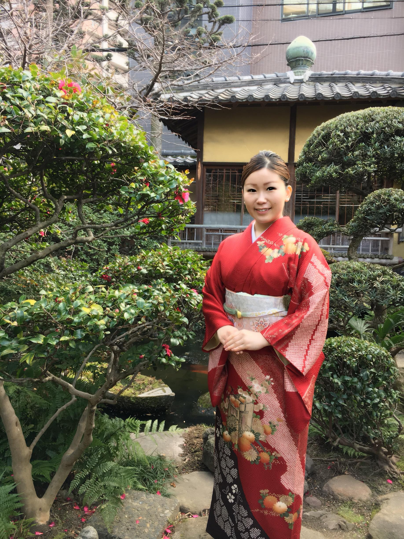 Sayaka in Kimono