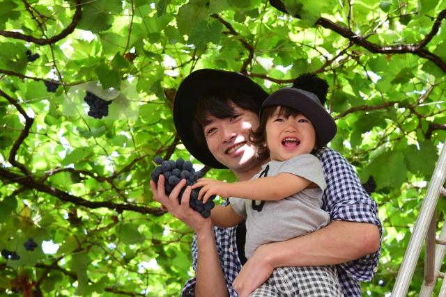 Autumn fun with family