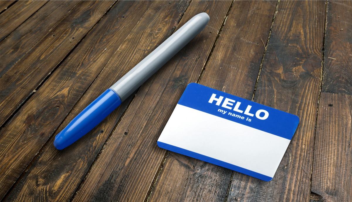 お名前シールとペン
