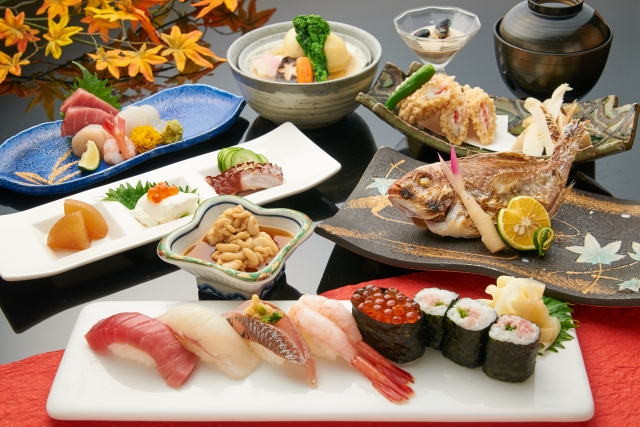 和食の写真