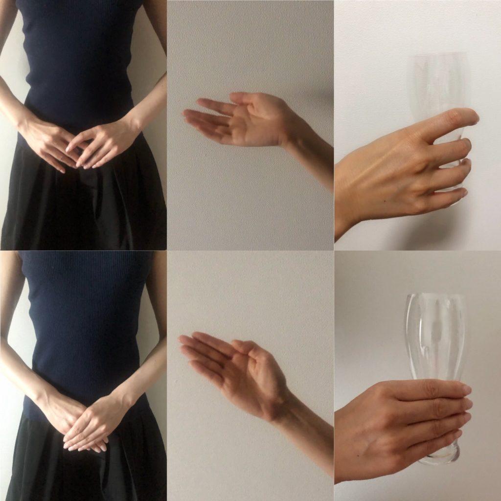 手は指先まで気持ちを込める、の注意点