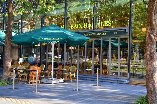 カフェ・エントランスの写真