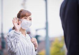 マスク着用でもステキな女性のイメージ画